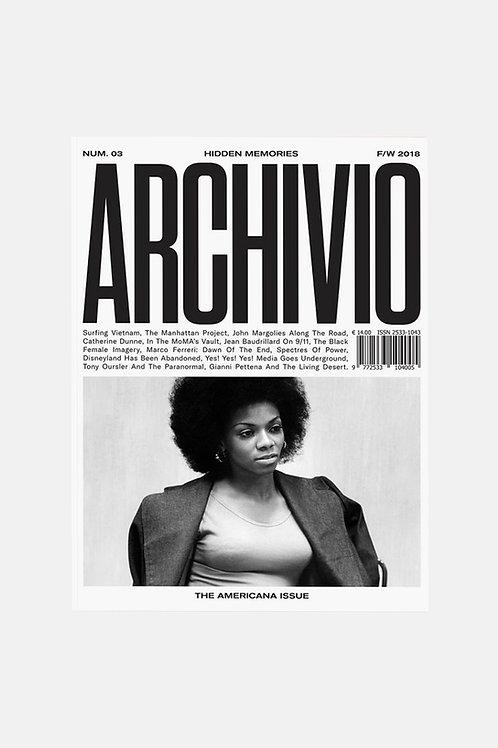 Archivio Issue 3 - The Americana Issue