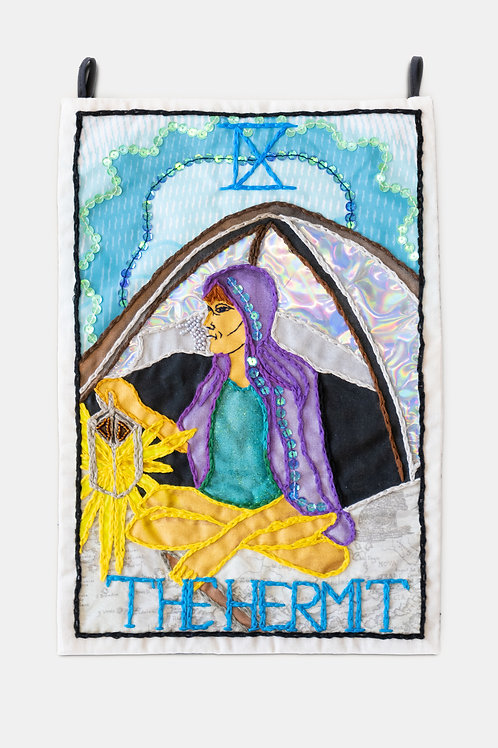Berenike Corcuera - IX The Hermit, Taroracle Book Card Collection, Series III, 2