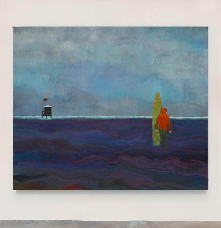 Kasper Sonne A Storm Coming, 2021 Oil on linen 183 x 152 cm