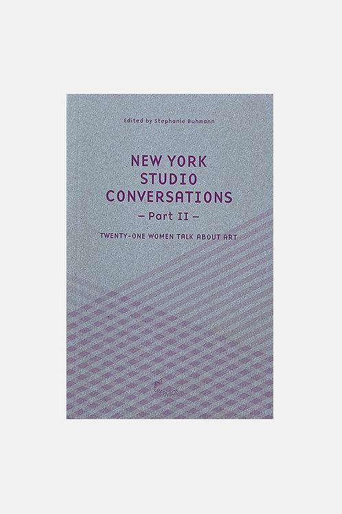 New York Studio Conversations(Part II)