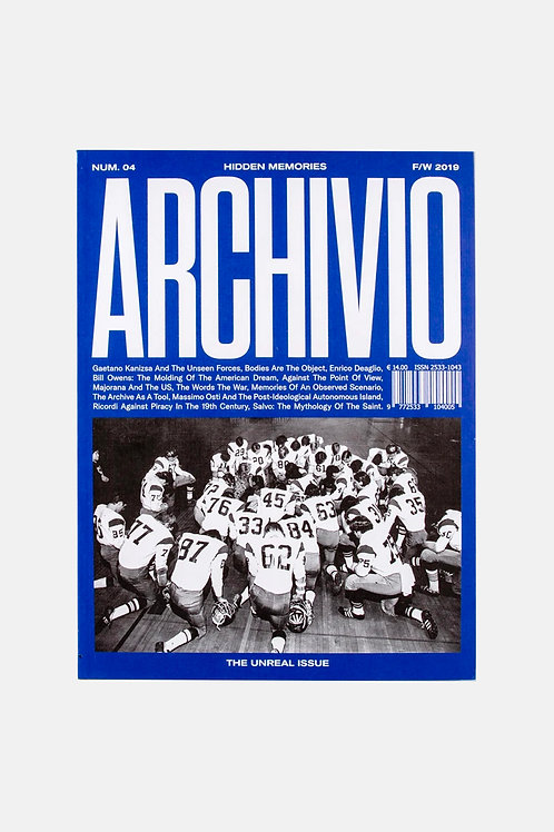 Archivio Issue 4 - The Unreal Issue