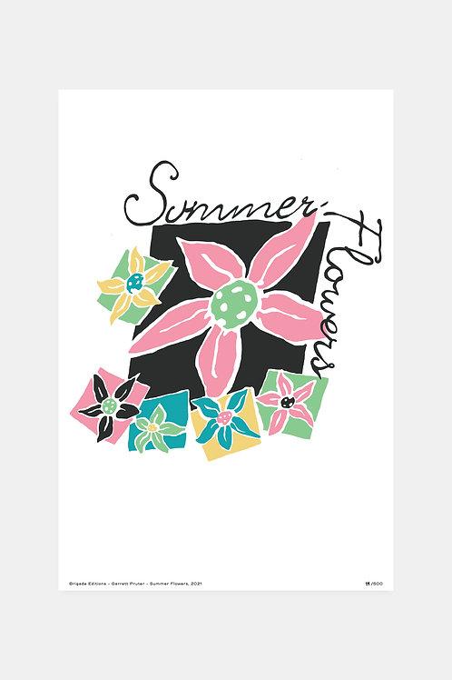 Brigade Editions - Garrett Pruter - Summer Flowers, 2021