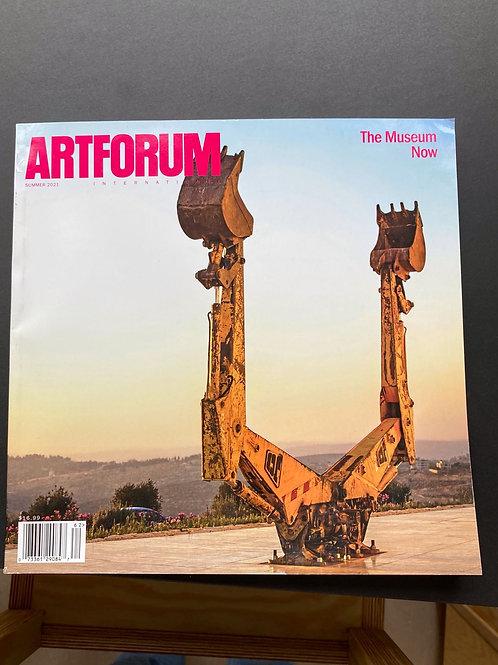 Artforum Summer 2021  Museum Now
