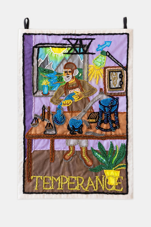 Berenike Corcuera - XIV Temperance, Taroracle Book Card Collection, Series I