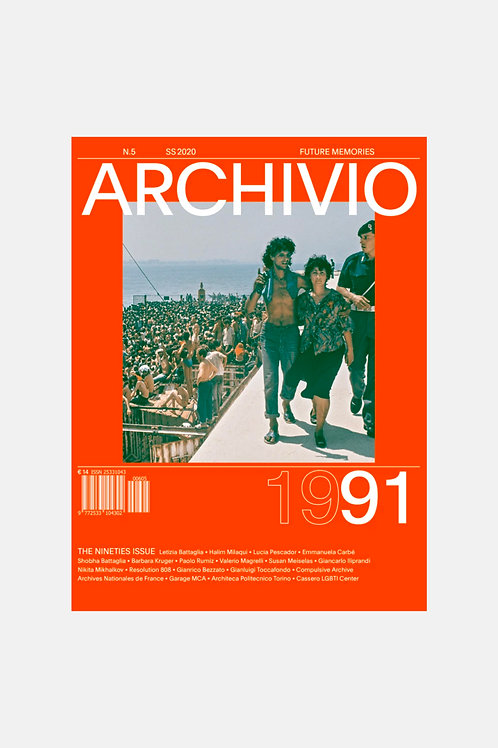 Archivio Issue 5 - The Nineties Issue