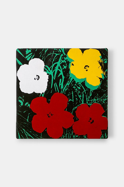 Eric Doeringer - Andy Warhol (Flowers Red/Green), 2021