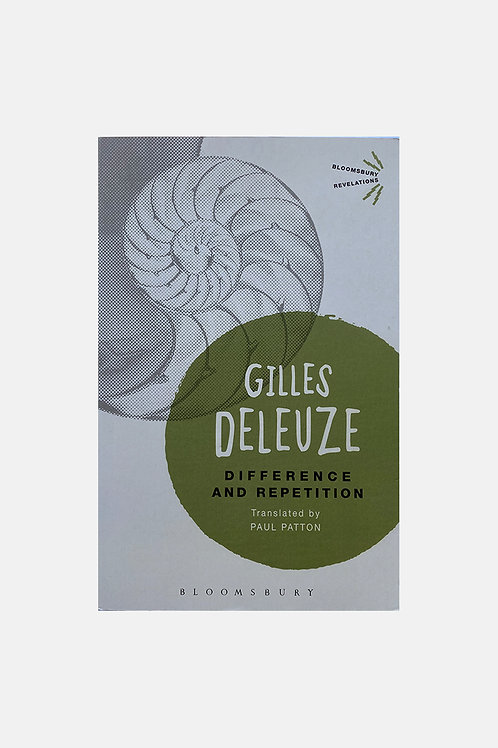 Gilles Deleuze, Difference and Repetition