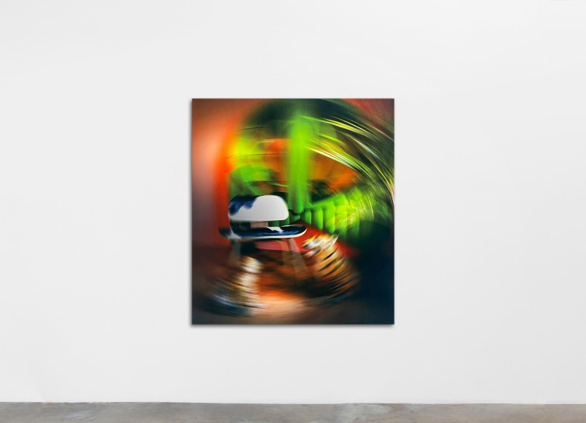 Ry David Bradley -o0Ti, 2020 Dye Transfer on Velvet 120 x 130 cm 47 1/4 x 51 1/8 in