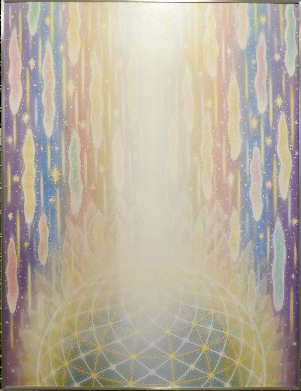 Peter Fich Christiansen Påkaldelse, 2015 Acrylic on masonite 80 x 60 cm