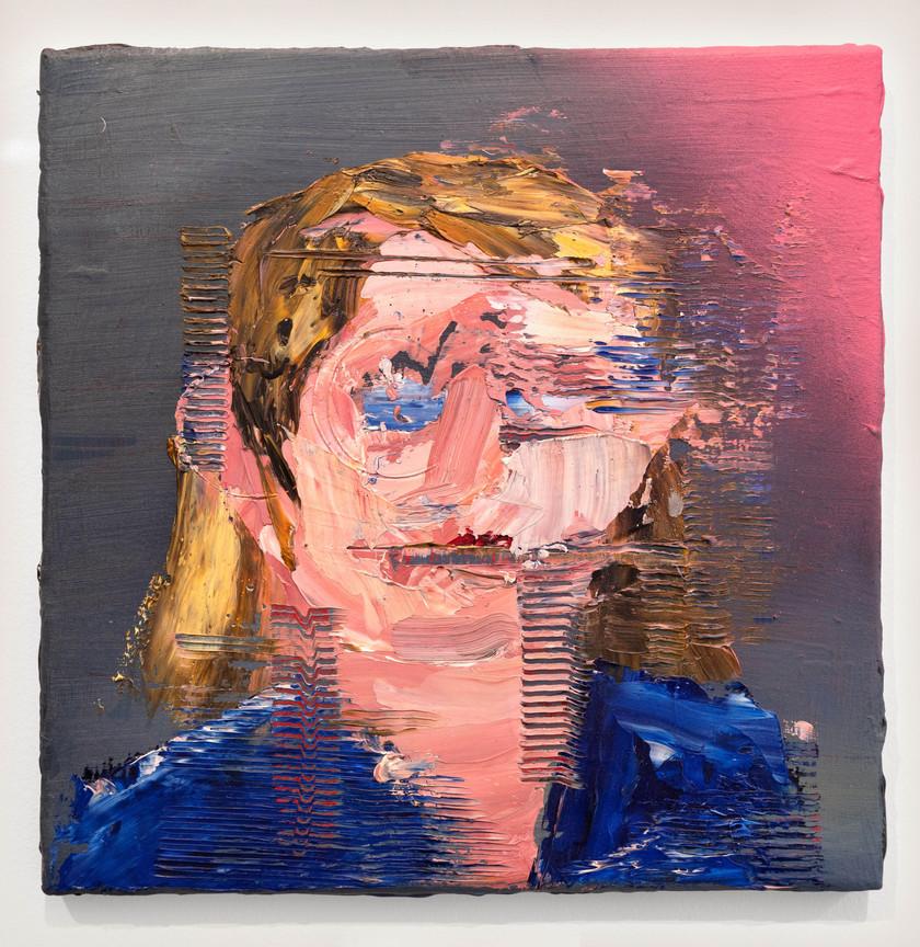 Brian Montuori Corporate Portraits, 2018 Oil on canvas 31 x 31 cm