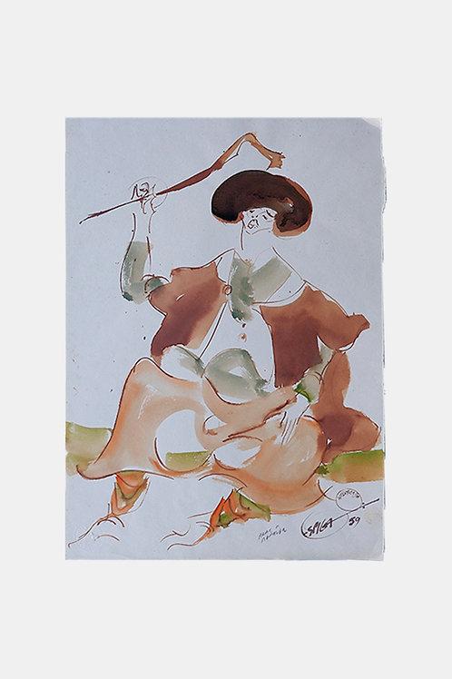 Espiga Pinto - The Shepherd in Alentejo, 1959
