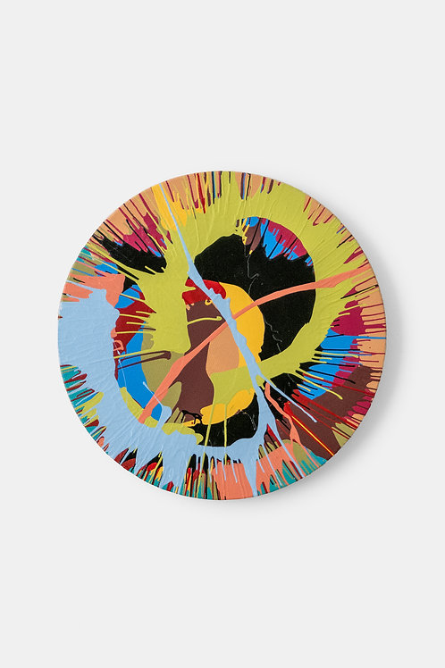 Eric Doeringer - Damien Hirst (Spin) 3, 2021