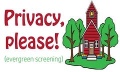 Privacy plants Sonora CA