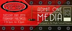 Oscars 2012 Ticket - Media