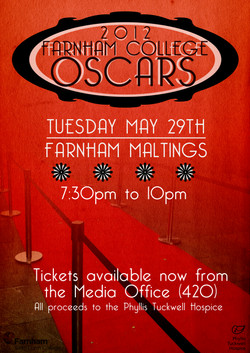 Oscars 2012 Poster