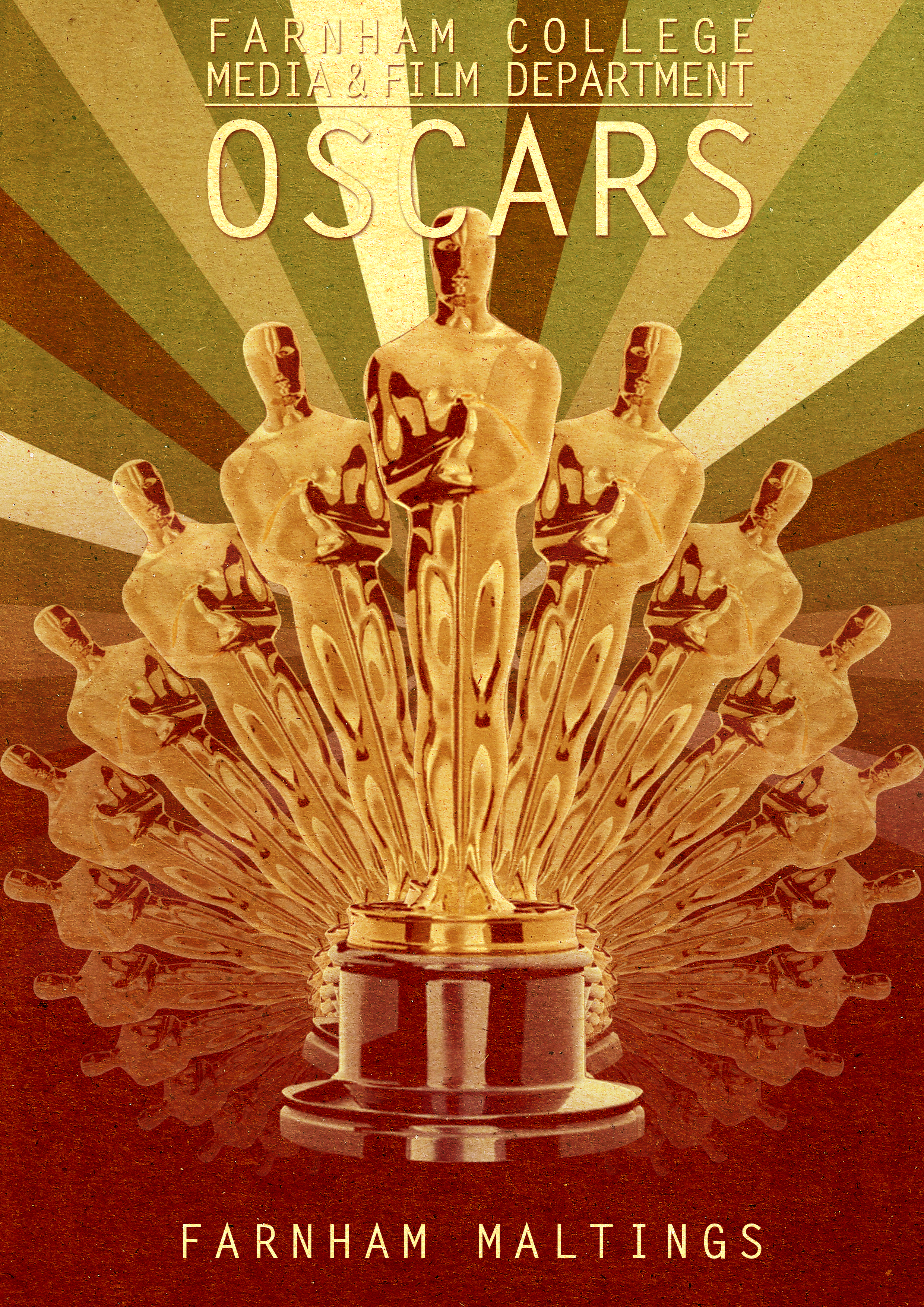 Oscars 2011 Poster
