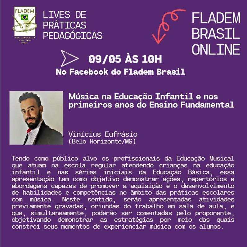 LIVE PEDAGÓGICA DIA 09/05