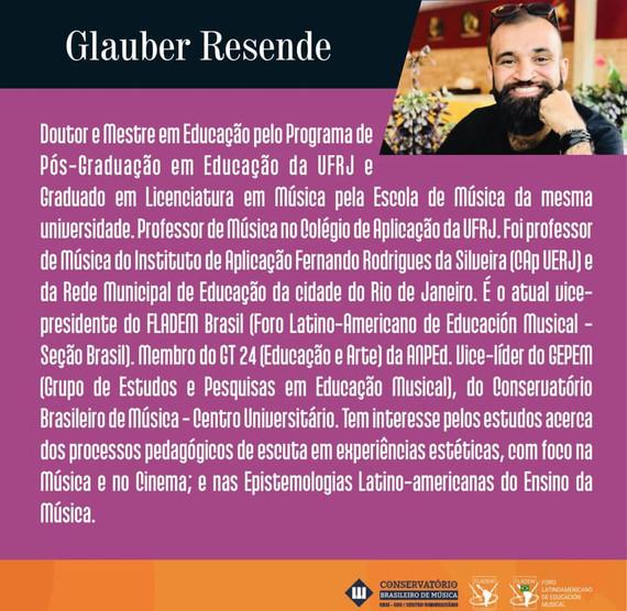 GLAUBER RESENDE