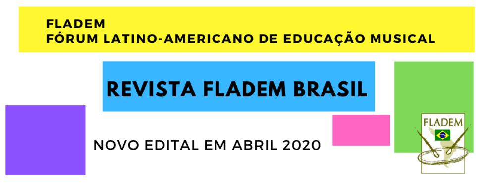 NOvo edital em abril Revista fladem bras