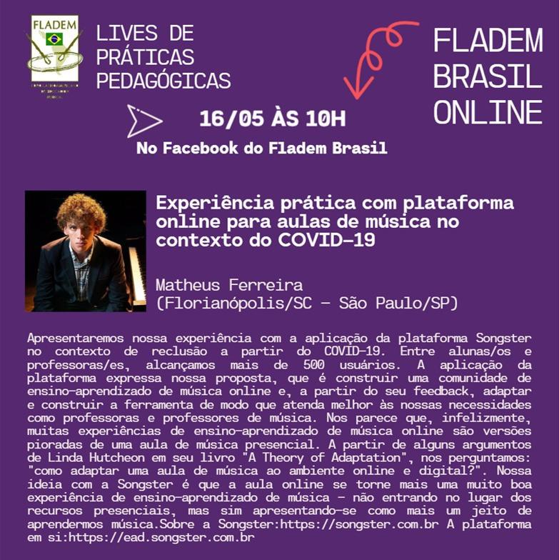 LIVE PEDAGÓGICA DIA 16/05