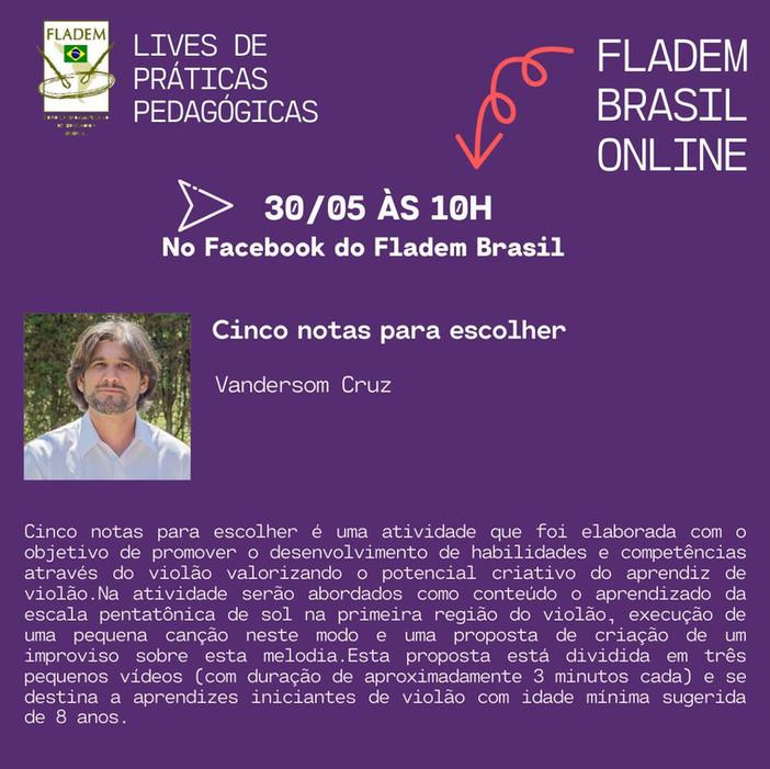 LIVE PEDAGÓGICA DIA 30/05