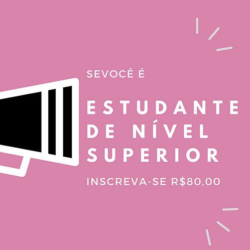 Estudante Nível Superior