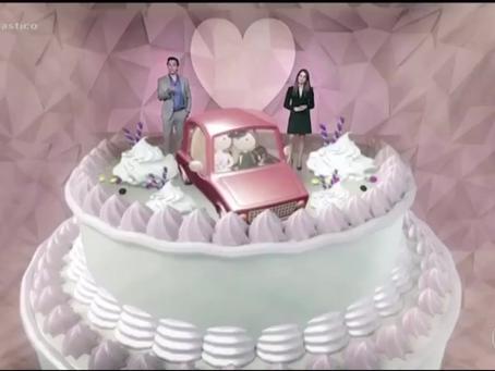 Primeiro Casamento em Drive-In do Brasil - Matéria do Fantástico - Rede Globo