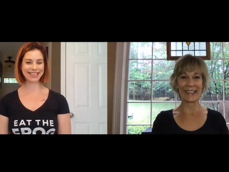 FIT CHAT with Stephanie Connerat, Eat the Frog Johns Creek