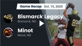 Legacy-Minot Game Highlights