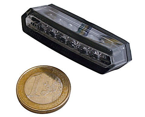 LED-Rücklicht MALIBU, schwarz