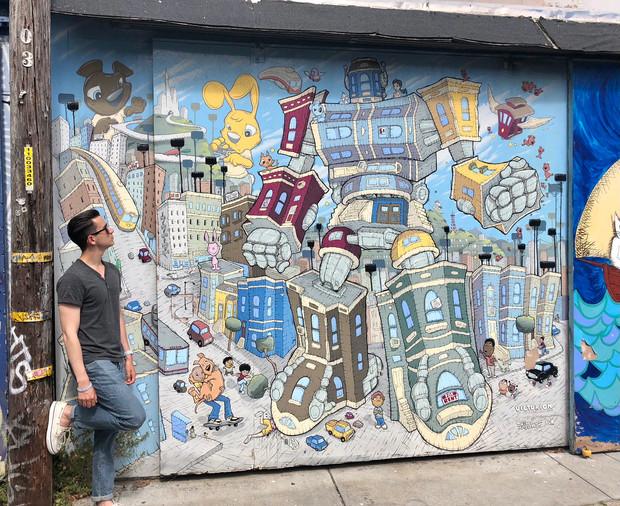 Balmy Alley - San Francisco, California