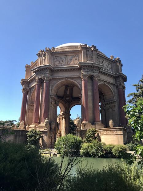 The Palace Of Fine Arts - San Francisco, California