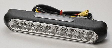 LED-Rücklicht LINE, schwarz