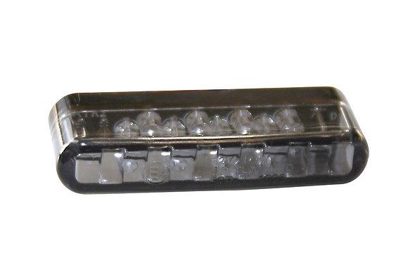 LED-Rücklicht SHORTY, getöntes Glas