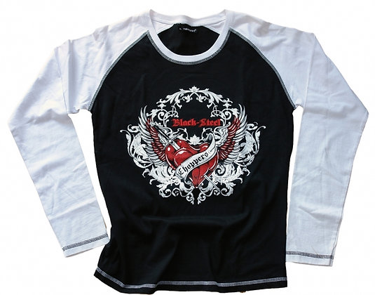 Heart base Girlie Longsleeve
