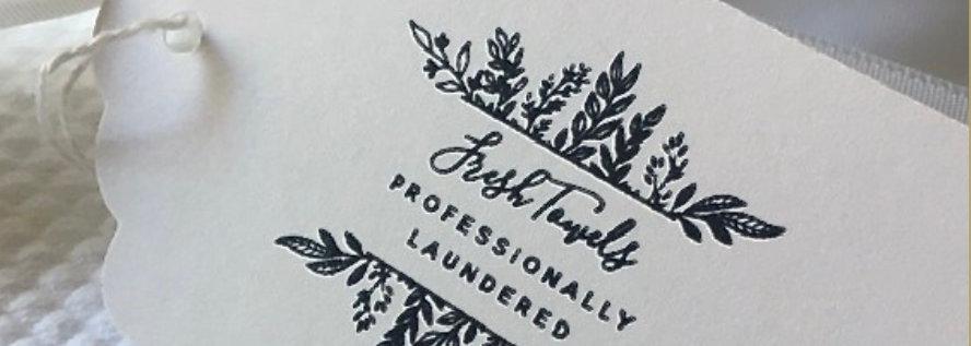 Fresh Towels Tags (bundle of 100)