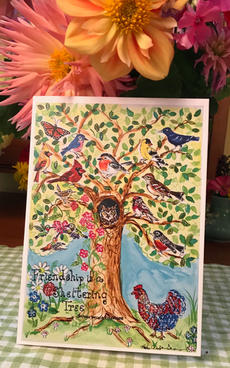 Friendship is A Sheltering Tree Greeting Card