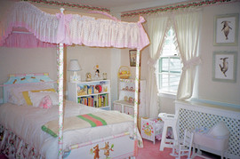 Canopy Bed with Tasha's Friends