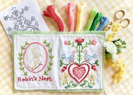 Robin's Nest Stitchbook Kit