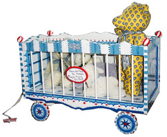 Circus Wagon Toy Chest