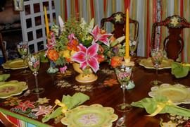 Lilies and Daffodils Dinnerware