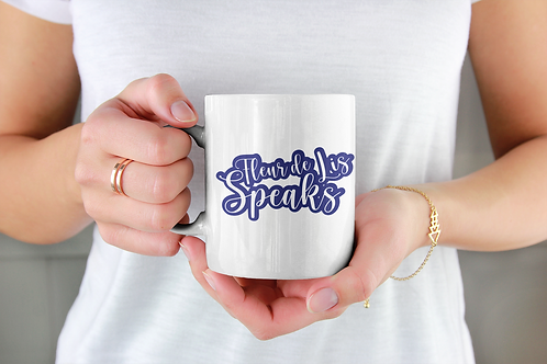 Fleur de Lis Speaks Coffee Mug