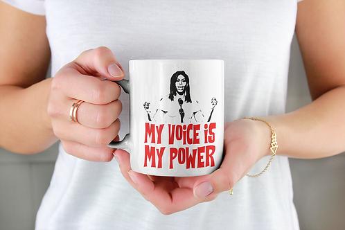 My Voice is Power Coffee Mug