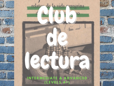 Come join our Club de lectura - starting soon!