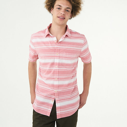 AEROPOSTALE, Horizontal Stripe Woven Shirt