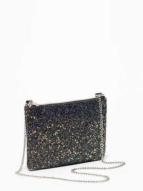Old Navy, Glitter Zip-Top Purse for Girls