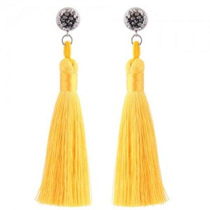 cotton-threads-shining-studs-high-fashion-statement-earrings-yellow