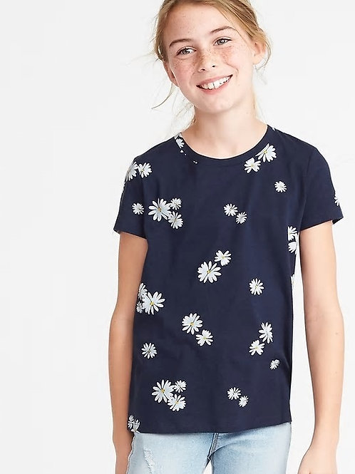 Old Navy, Softest Crew-Neck Tee for Girls