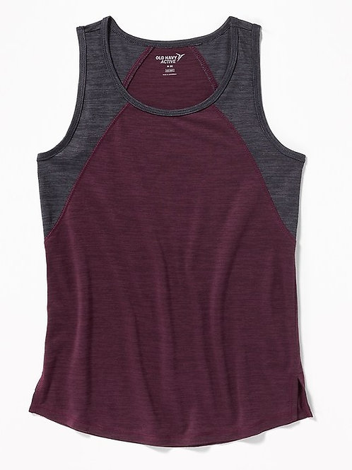 Old Navy, Go-Dry Color-Blocked Tank for Girls