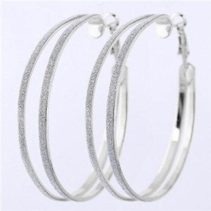 dull-polish-surface-giant-hoop-high-fashion-women-earrings-silver